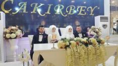 Ordu'da ikiz Gelinler ile İkiz Damatlar Evlendi