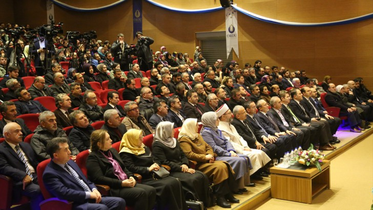 Ordu'da Bilgiden Bilince konferansı Düzenlendi
