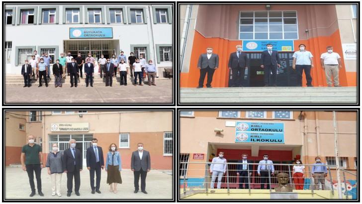 Millî Eğitim Müdürü Vargeloğlu, İşi Sıkı Tutuyor