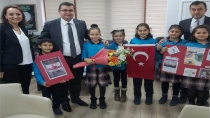 Ordu'da Şehit Okulu Avrupa Kalite Ödülü Aldı