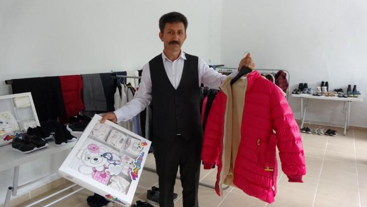 Altınordu'da muhtarlık, ücretsiz AVM'ye dönüştürüldü
