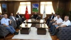 Memur-Sen Genel Başkanı Yalçın'dan Başkan Güler'e Ziyaret