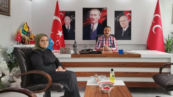 MHP Altınordu İlçe Başkanlığına Tavlı atandı