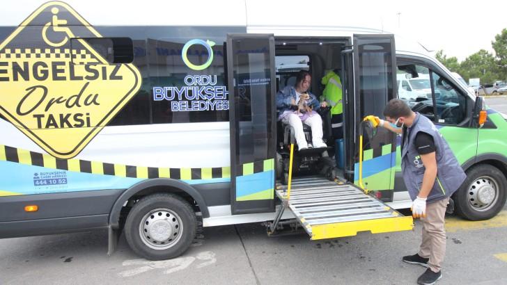Ordu Büyükşehir engelli vatandaşlara hizmette sınır tanımıyor