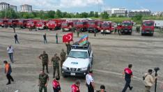 Can Azerbaycan Ordu'da Yakıt İkmali Yaptı