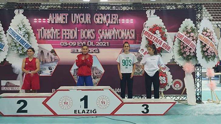 Gamze Soğuksu 4.kez Türkiye şampiyon oldu