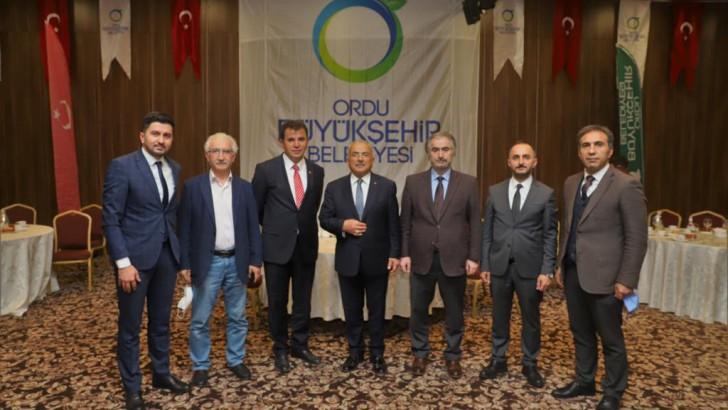 Başkan Güler Ankara'da Ordulularla buluştu