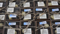 Ordu'da yükümlülerin yaptığı çikolatalar Mehmetçiğe gönderildi