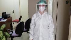 Ordu'da gönüllü gençlerden sağlık çalışanlarına maske desteği