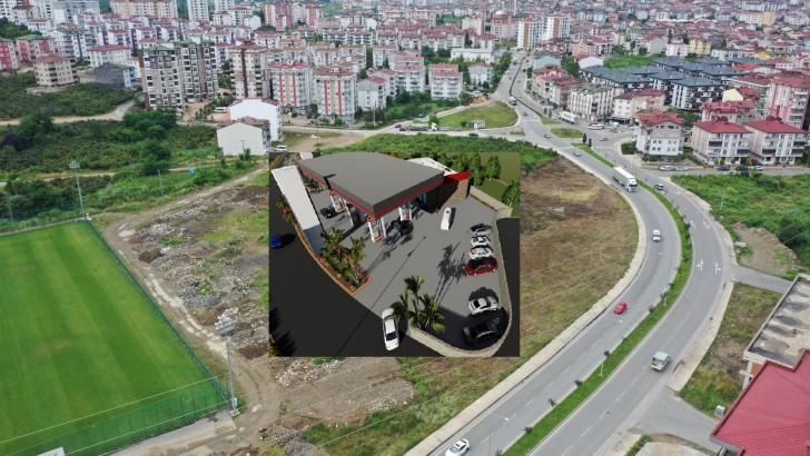 Ordu Büyükşehir Akaryakıt İstasyonu Kuruluyor