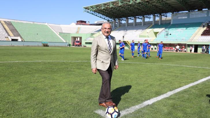 Başkan Güler, Spor  ve Sporcnun Yanındayız.