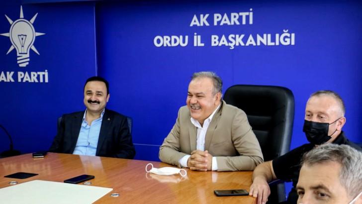Başkan Tomakin; Ordu ve Güçlü Türkiye'yi Birlikte İnşa Edeceğiz
