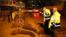 Ordu'da şiddetli yağışa hızlı çözüm