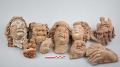 Ordu Kurul Kalesi'nde Dionysos İle Satyr Büst ve Maskları Bulundu
