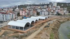 Ordu Büyükşehir Fatsa'yı Kapalı Pazarı'na Kavuşturuyor