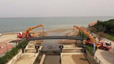 Ordu Bülbül Deresi yaya köprüsü gün sayıyor