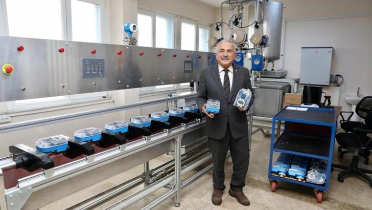 Ordu Büyükşehir, elektronik su sayacı üretimine başladı