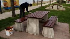 Ordu Büyükşehir parkları evden geçiriyor