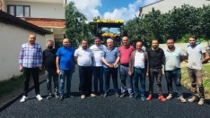 Ordu Büyükşehir asfalt patenti Gölköy'de üretime başladı