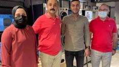 Başkan Naci Şanlıtürk esnaflarla buluştu