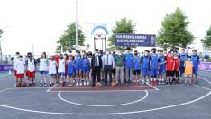Ordu'da sokak basketbolu yarışmaları başladı