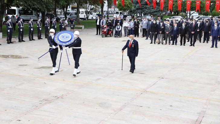 Ordu'da Gaziler Günü törenlerle kutlandı.