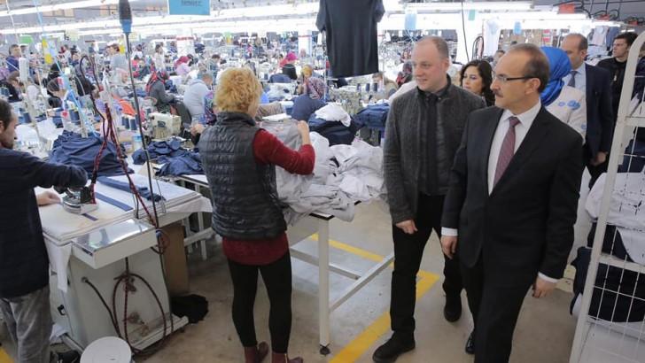 Vali Yavuz, İş Dünyasına Ziyaretlerini Sürdürüyor
