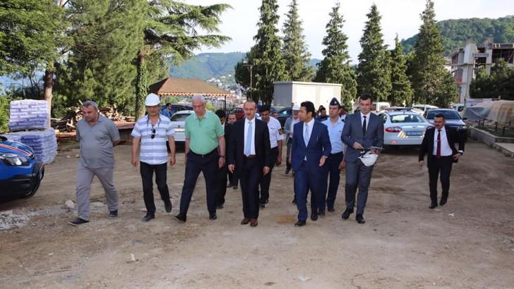 Vali Yavuz, Perşembe İlçesinde Yapımı Devam Eden Kamu Yatırımlarını İnceledi