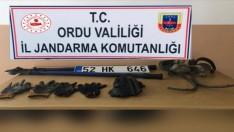 Ordu'da kablo hırsızlığından 2 şüpheli tutuklandı