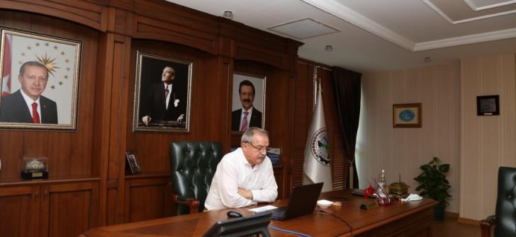 Başkan Servet Şahin, Üyelerin Sorunlarını Hisarcıklıoğlu'na İletti.