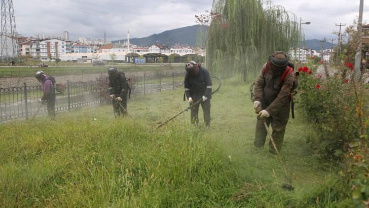 Ordu Büyükşehir Sonbahar Temizliği Başlattı.