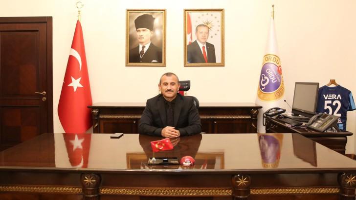 Vali Sonel'in 10 Kasım Atatürk'ü Anma Günü Mesajı