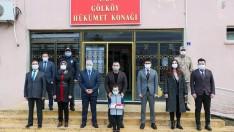 Vali Sonel, Gölköy ve Ulubey İlçelerini Ziyaret Etti