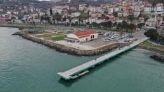 Ordu Büyükşehir, Perşembe İskelesini Yeniliyor