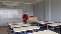 Ordu Büyükşehir Sınav Öncesi Okulları Dezenfekte Etti