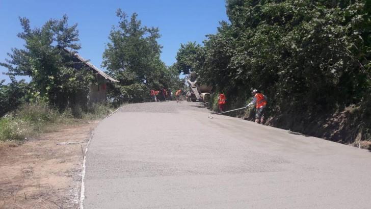 Ordu Büyükşehirden Fatsa'ya Beton Yol Konforu