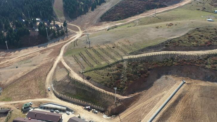 Ordu Çambaşı Kayak Merkezi Yeşillendiriliyor