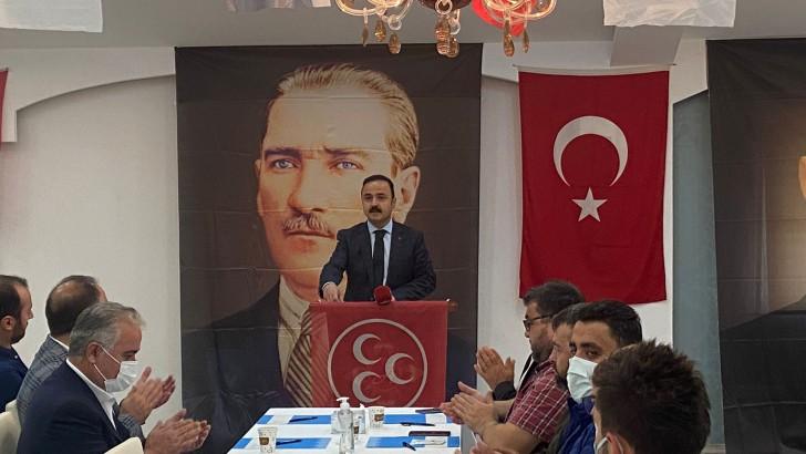 Başkan  Şanlıtürk, Ülkemiz ve milletimiz gün geçtikçe güçlenmektedir