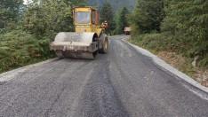 Ordu Büyükşehir Mesudiye'nin Grup yollarını asfaltla buluşuyor