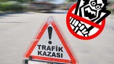 Ünye'de trafik kazasında 1 kişi yaralandı