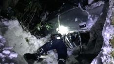Ordu'da otomobil şarampole devrildi: 3 yaralı