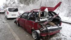 Ordu'da zincirleme trafik kazası: 6 yaralı