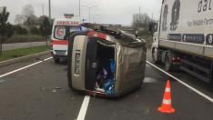 Ordu'da trafik kazasında 3 kişi yaralandı