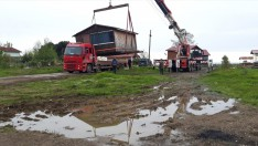 Ordu'da kıyılarda imar kirliliği oluşturan yapılar yıkılıyor