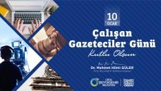 Başkan Güler,10 Ocak Çalışan Gazeteciler Günü Kutlu Olsun