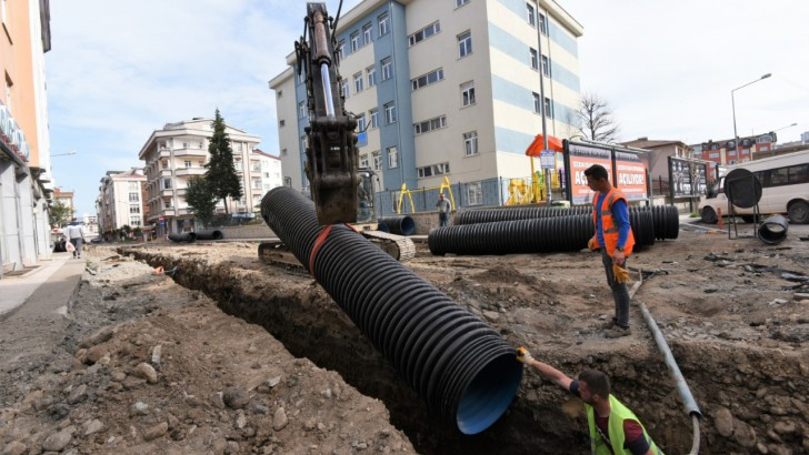 Altınordu Belediyesi Yeni Mahalleyi Yeniliyor