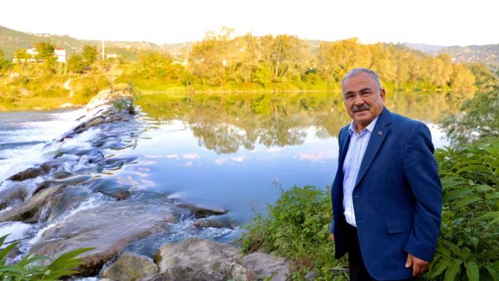 Başkan Güler, melet ırmağı turistik bölge haline gelecek