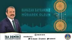 Başkan İsa Demirci'nin Ramazan Bayramı mesajı