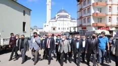 Başkan Güler'e İlçelerde Sevgi Seli