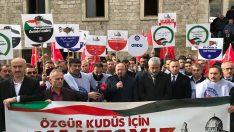 Başkan Çelenk, Kudüs Savaşın Değil Barışın Şehridir